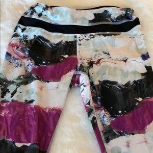 Lululemon 7/8 running leggings